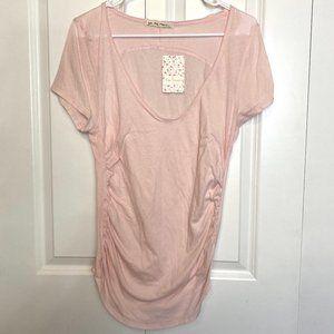 NWT We The People Chiffon Cake Pink T-shirt